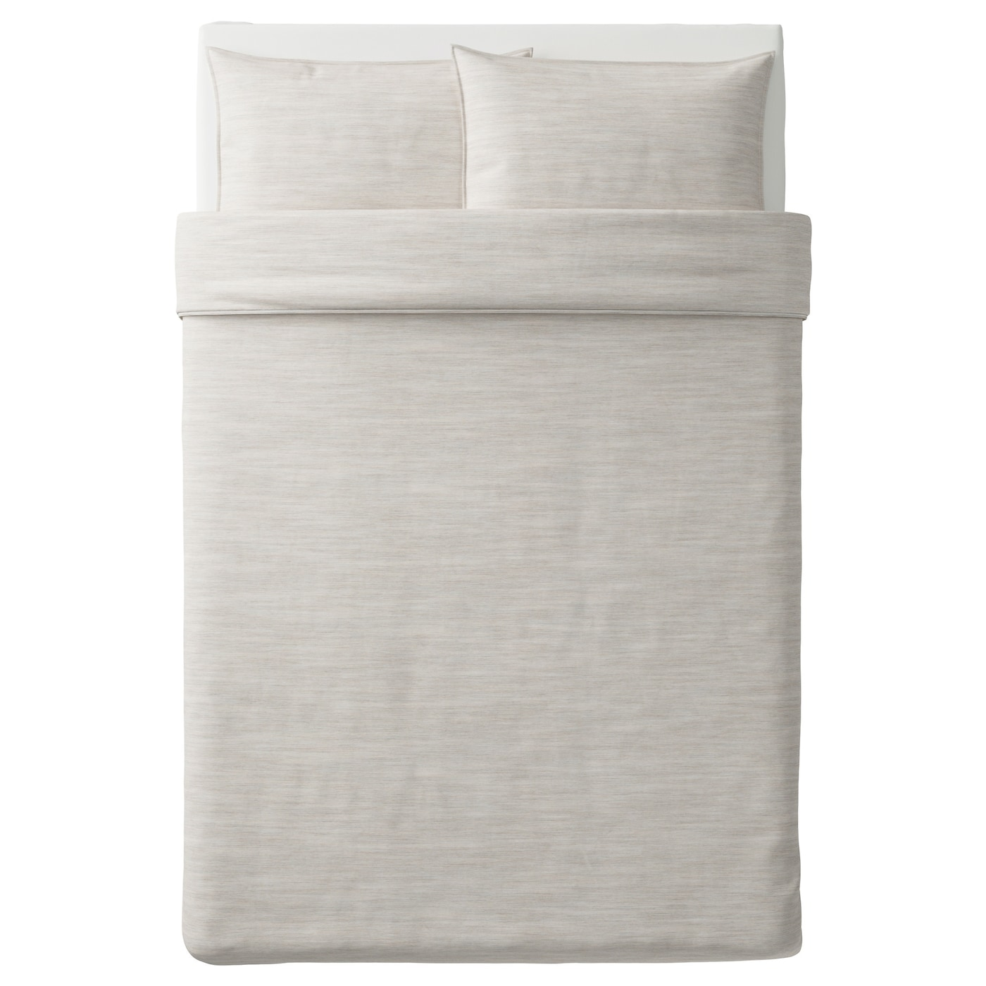 skogsalm quilt cover and 2 pillowcases beige 200x200 50x80. Black Bedroom Furniture Sets. Home Design Ideas