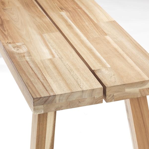 SKOGSTA Bench, acacia, 120 cm