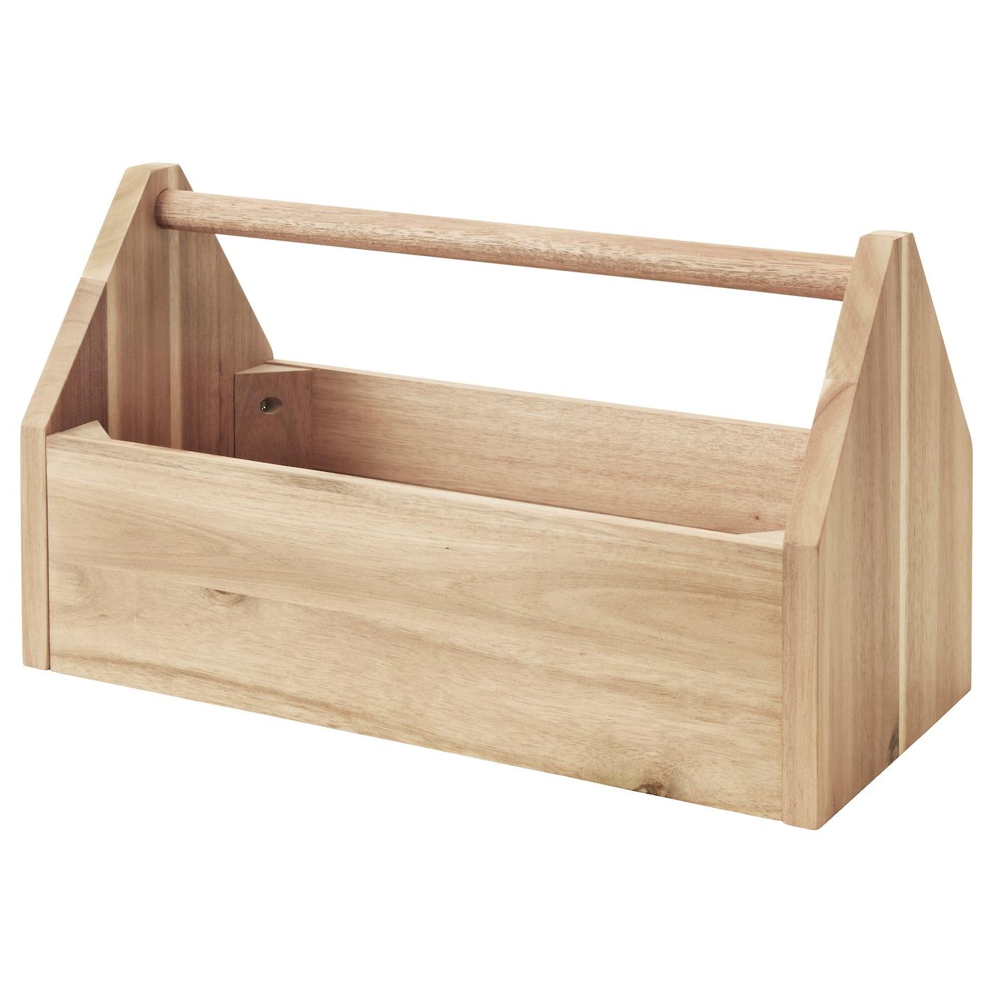 Ikea Skogsta Box With Handle