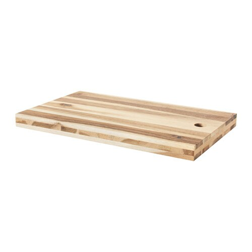 skogsta chopping board acacia 50 x 30 cm ikea. Black Bedroom Furniture Sets. Home Design Ideas