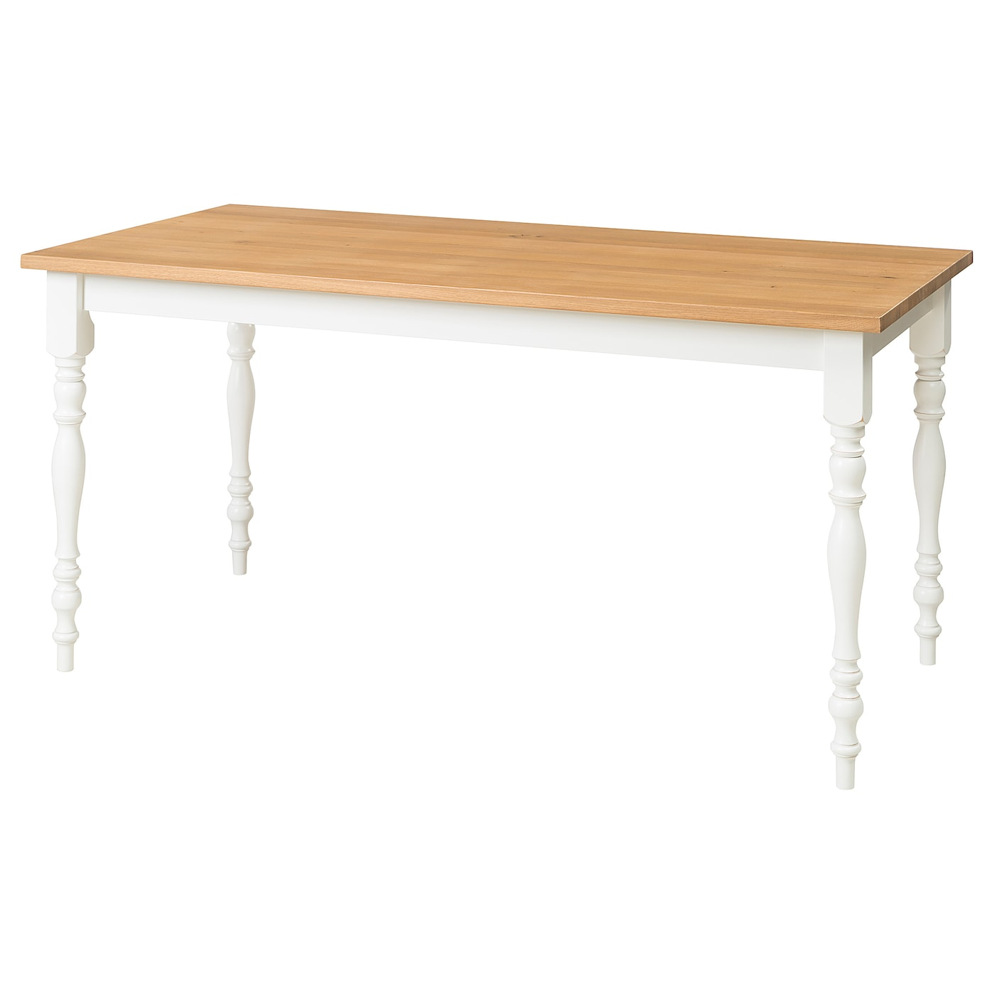 Ikea Skogstorp Dining Table Solid Wood Is A Hardwearing Natural Material