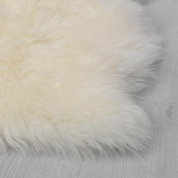 SKOLD Sheepskin, white, 60 cm