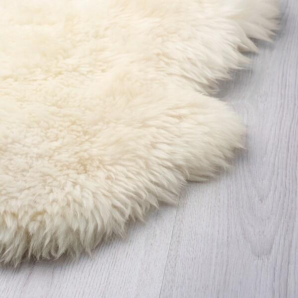 SKOLD Sheepskin, white, 160 cm