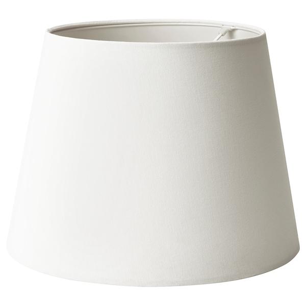 SKOTTORP Lamp shade, white, 42 cm