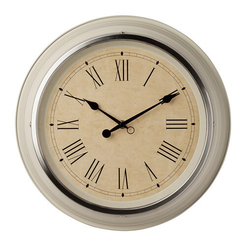 IKEA SKOVEL wall clock