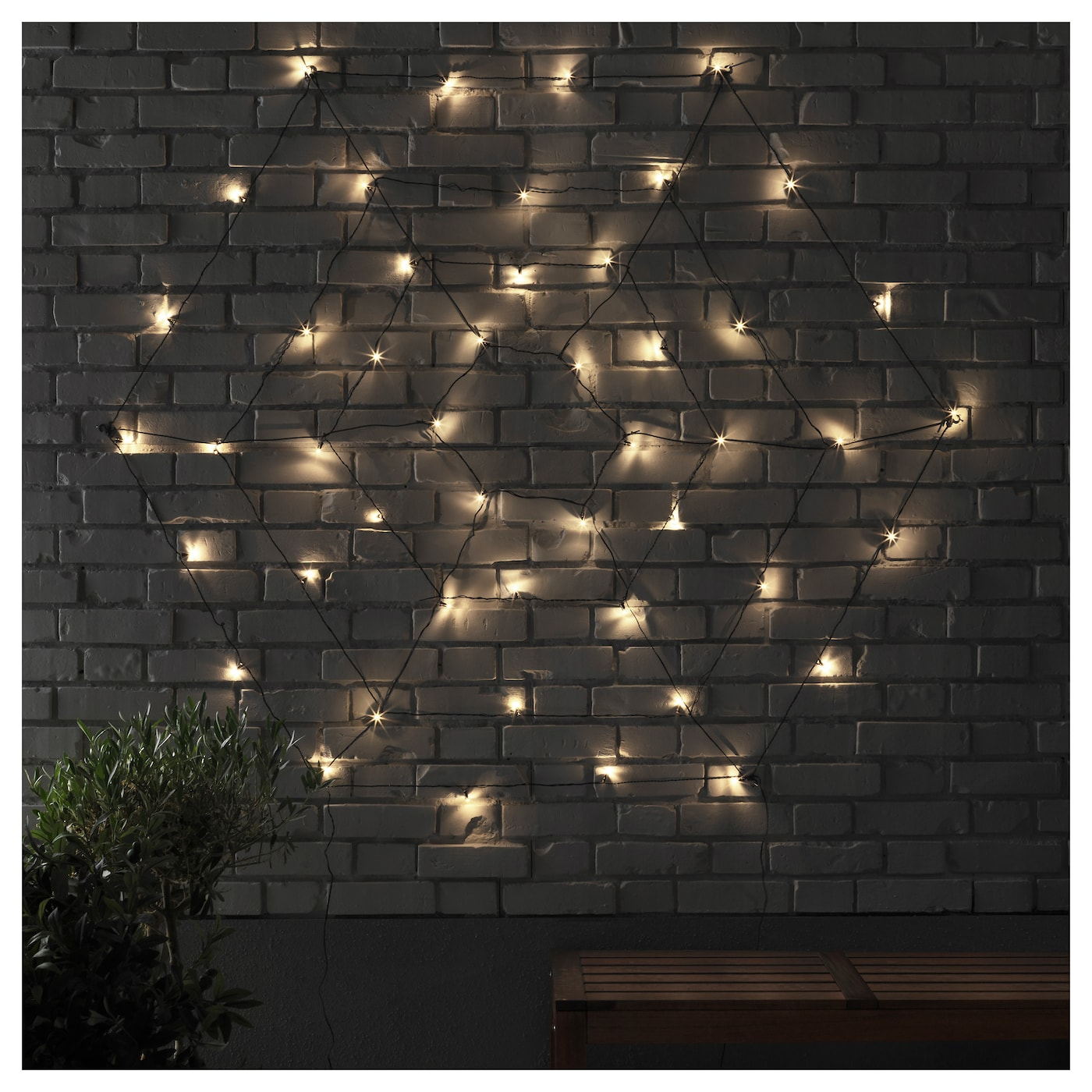 IKEA SKRUV LED lighting web with 48 lights