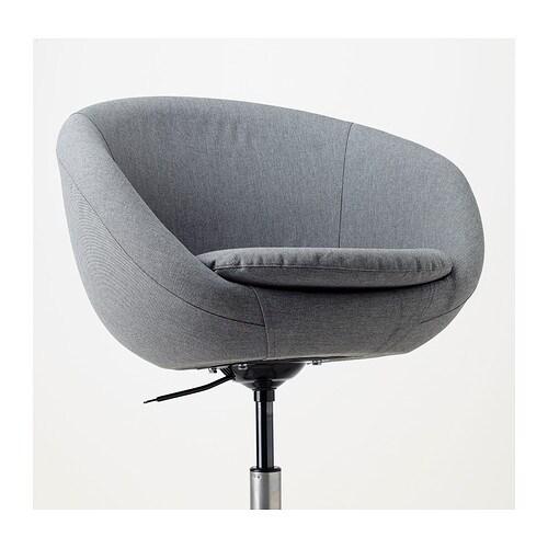Skruvsta swivel chair flackarp grey ikea - Chaise fauteuil ikea ...