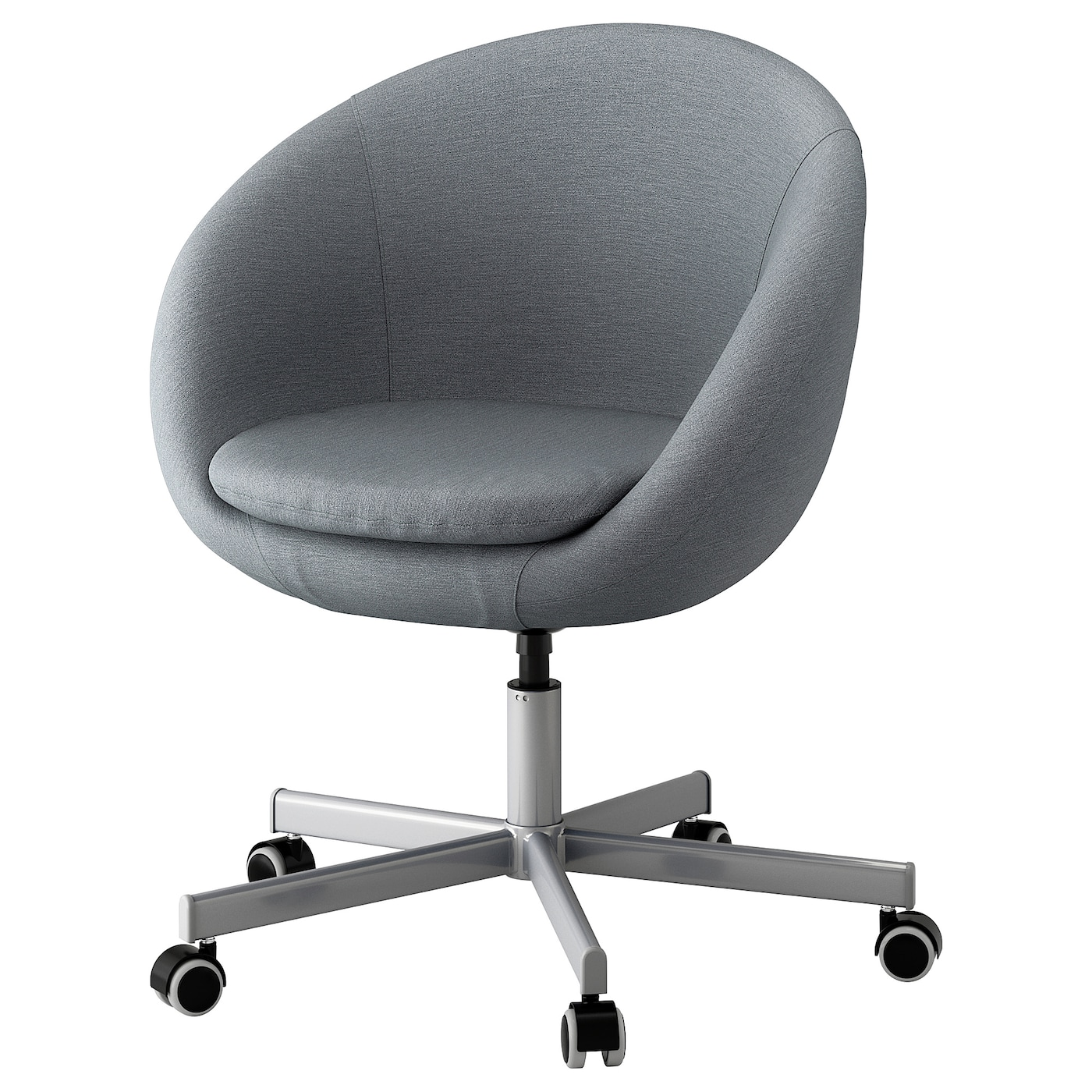 skruvsta swivel chair flackarp grey ikea