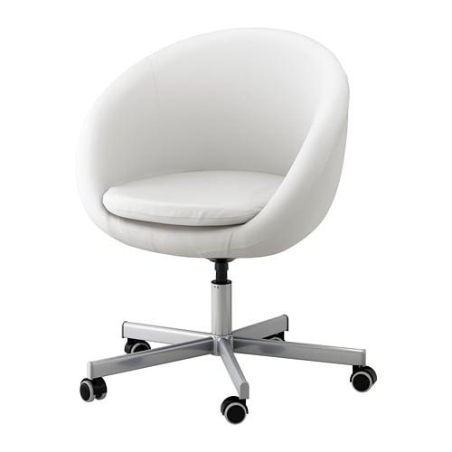 SKRUVSTA Swivel Chair Idhult White IKEA