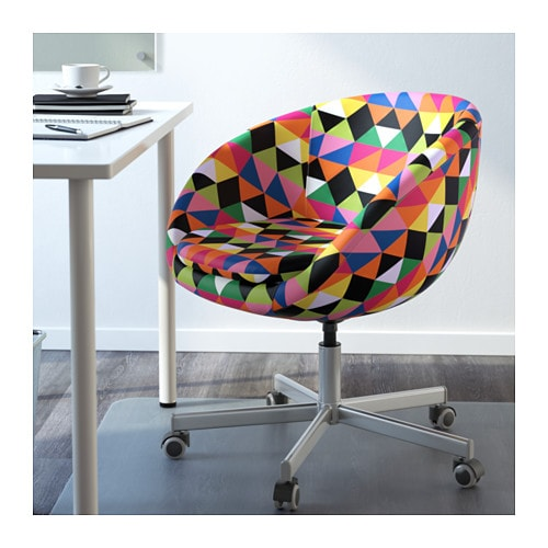 Delicieux IKEA SKRUVSTA Swivel Chair You Sit Comfortably Since The Chair Is  Adjustable In Height.