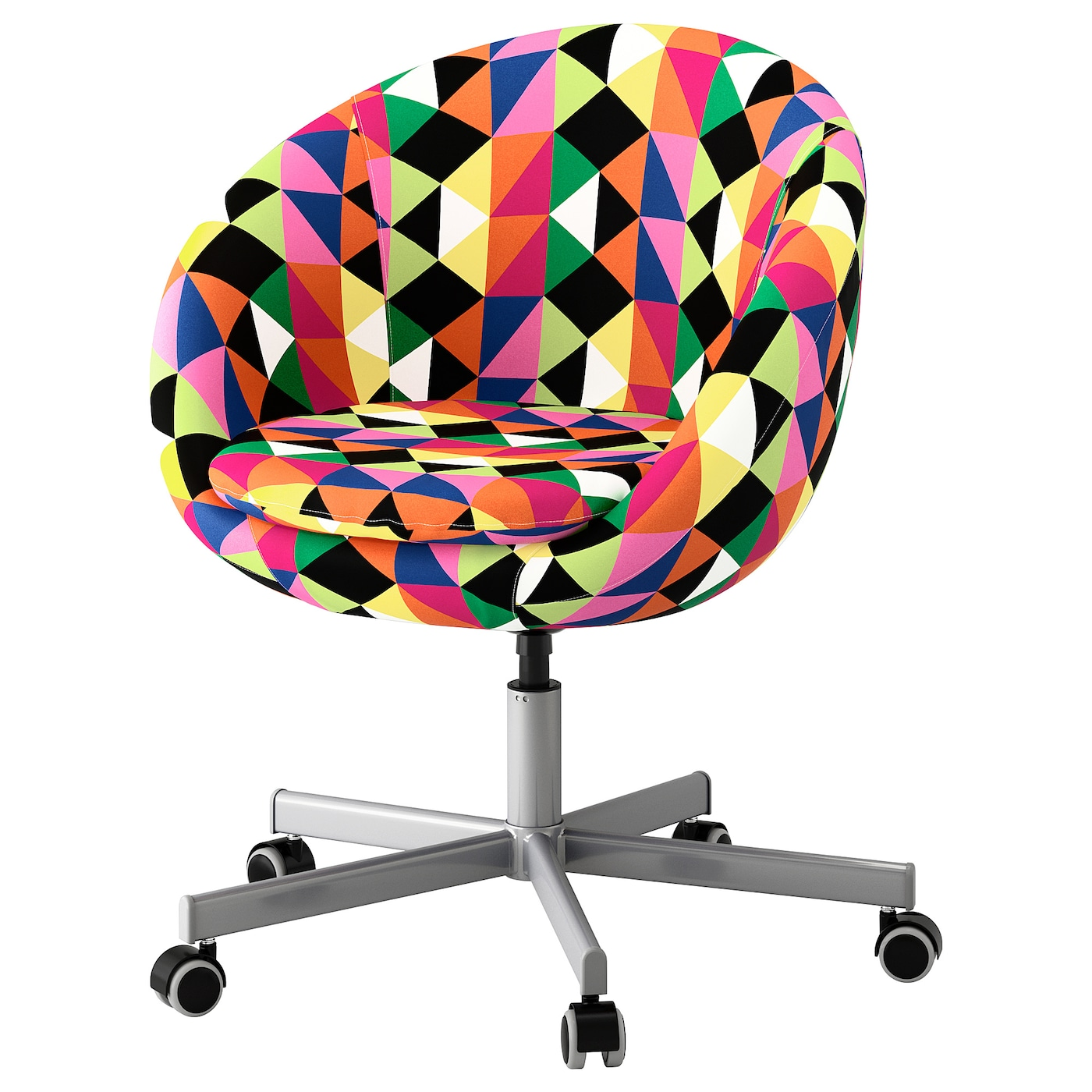 Skruvsta swivel chair majviken multicolour ikea for Ikea office desk chair