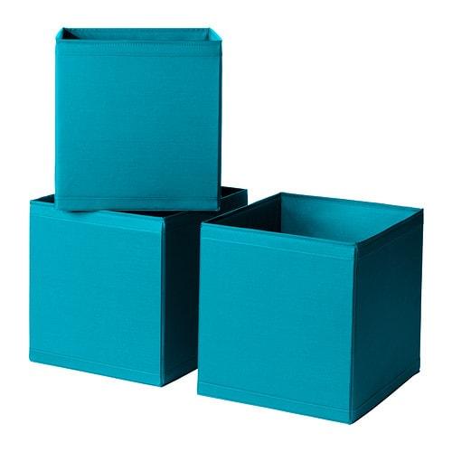 3 x ikea skubb storage boxes fits pax wardrobe turquoise ebay. Black Bedroom Furniture Sets. Home Design Ideas