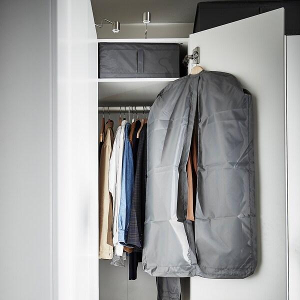 SKUBB clothes cover, set of 3 dark grey
