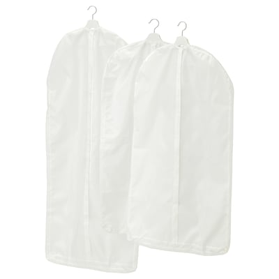 SKUBB clothes cover, set of 3 white