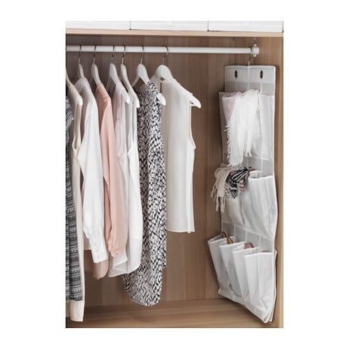 skubb hanging shoe organiser w 16 pockets white ikea. Black Bedroom Furniture Sets. Home Design Ideas
