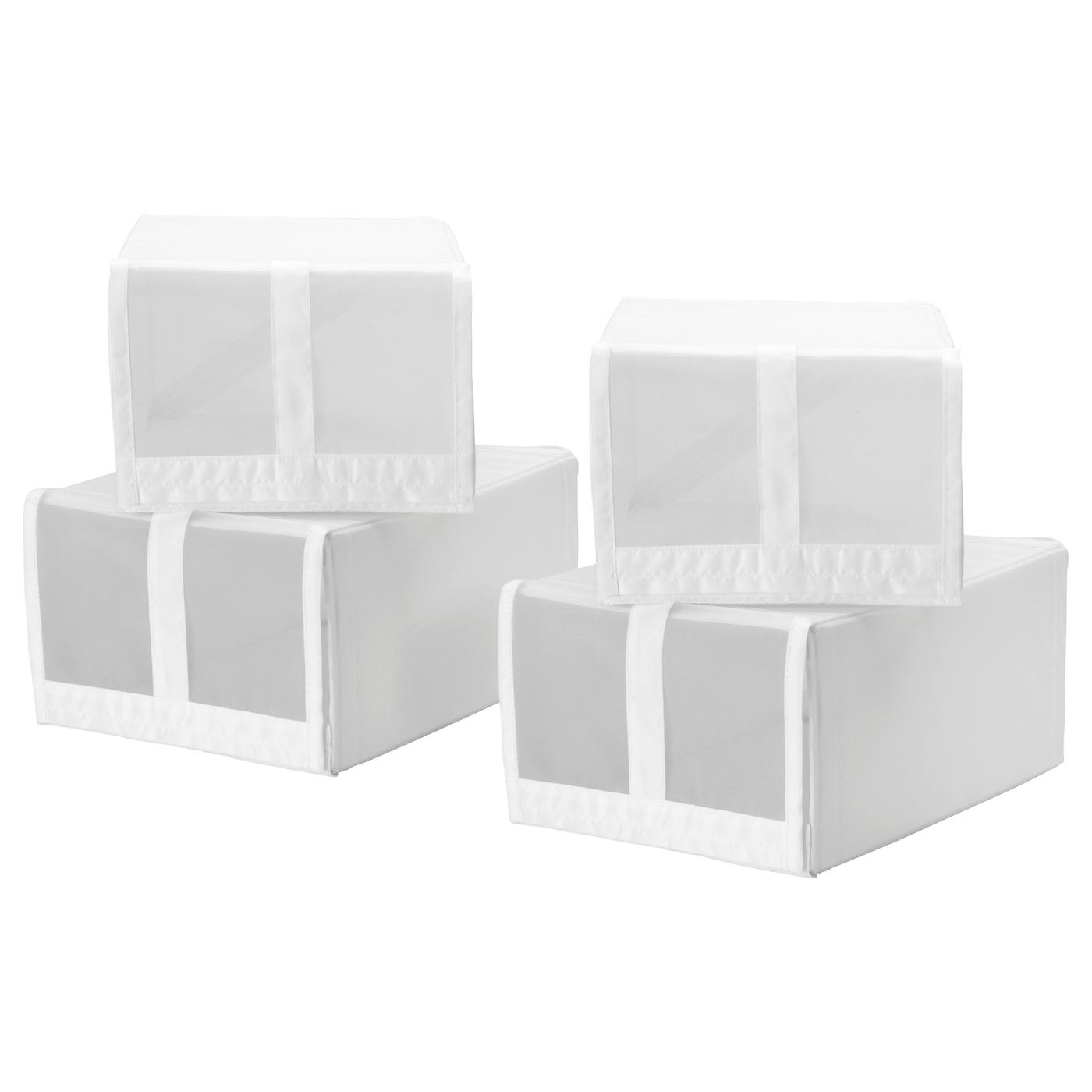 skubb shoe box white 22 x 34 x 16 cm ikea. Black Bedroom Furniture Sets. Home Design Ideas