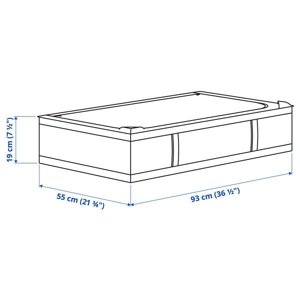 SKUBB Storage case, dark grey, 93x55x19 cm
