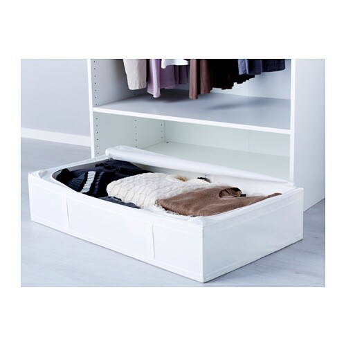 skubb storage case white 93x55x19 cm ikea. Black Bedroom Furniture Sets. Home Design Ideas