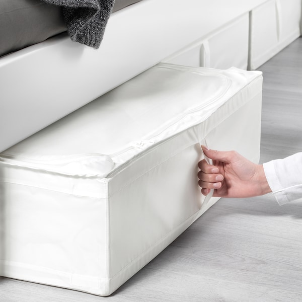 SKUBB Storage case, white, 69x55x19 cm