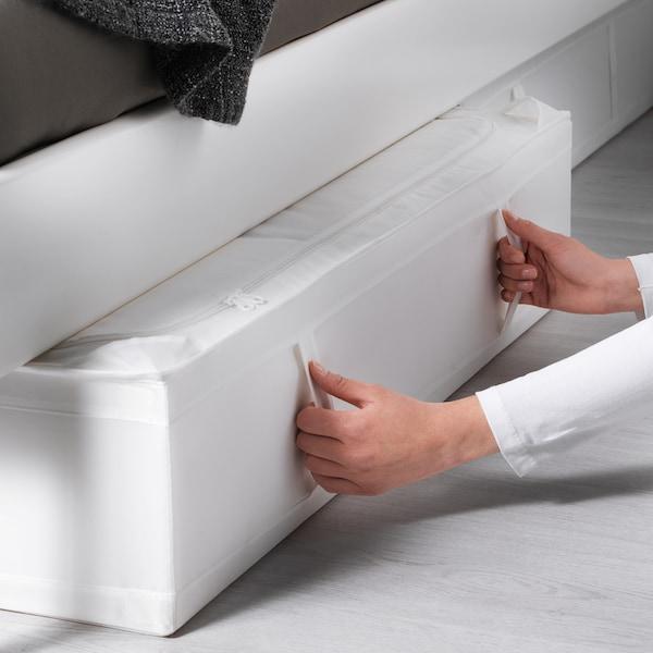 SKUBB Storage case, white, 93x55x19 cm