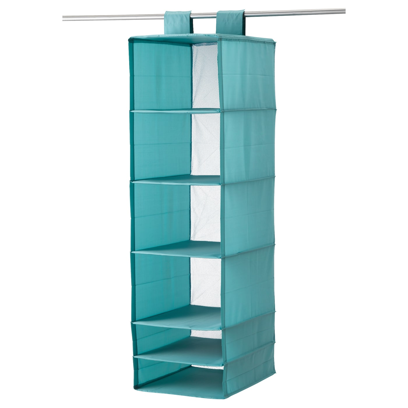 IKEA SKUBB storage with 6 compartments The hook and loop fastener makes it easy to hang up and move.