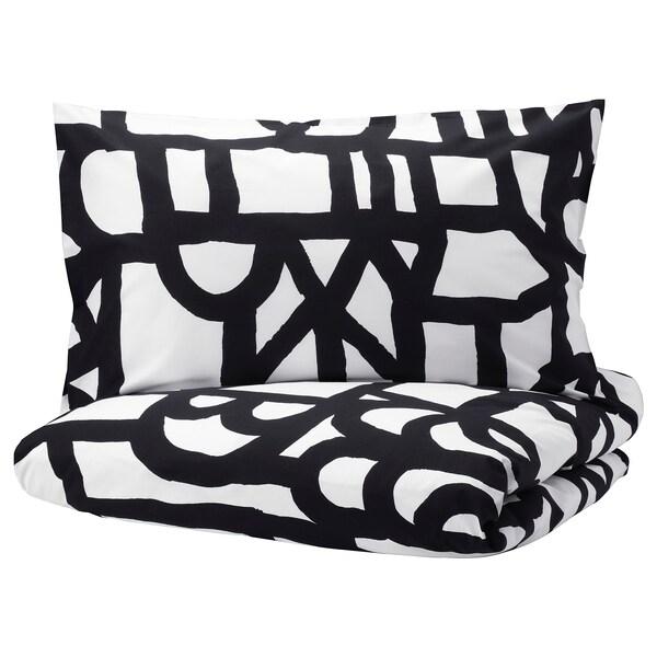 Black & White Pillowcase 50x80cm from