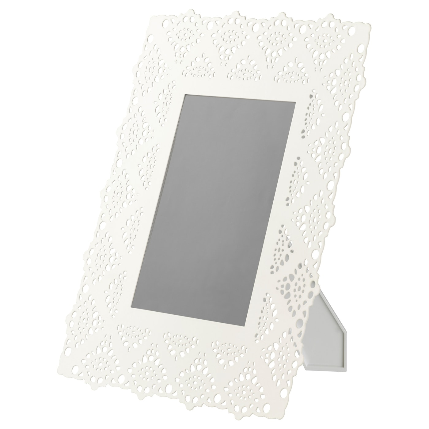 IKEA SKURAR frame Front protection in plastic makes the frame safer to use.