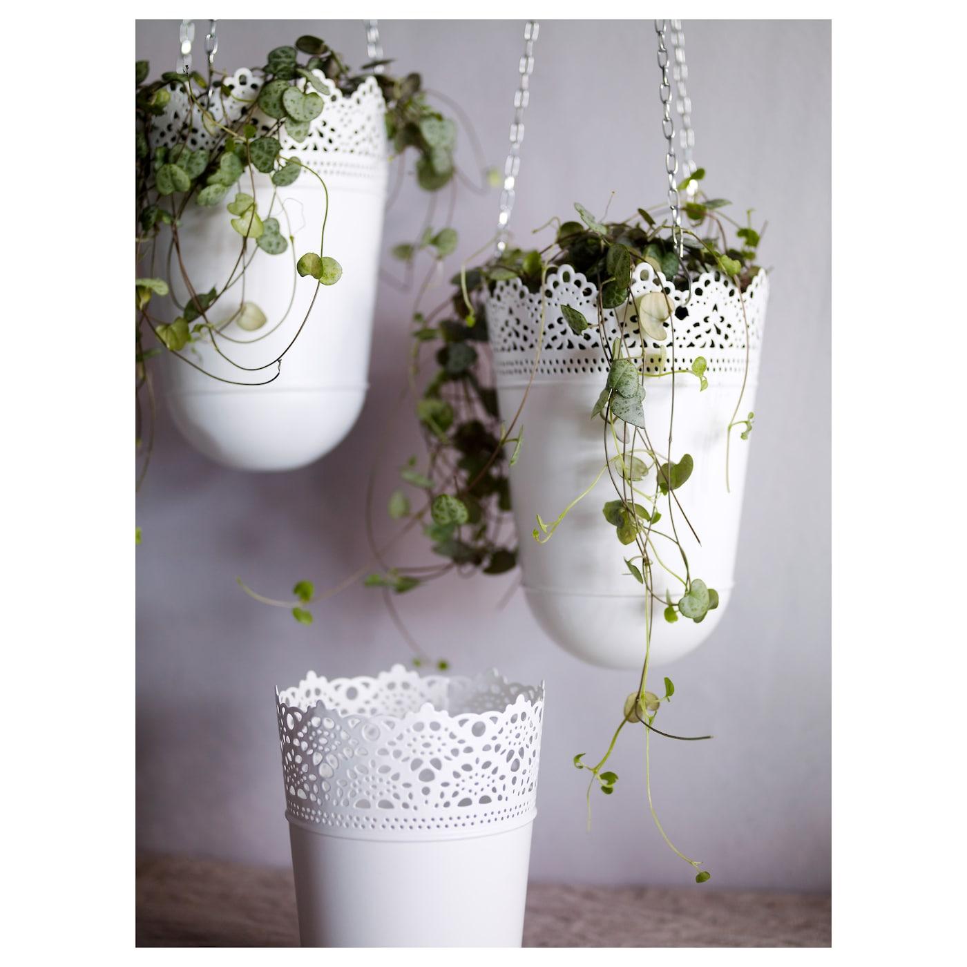 skurar plant pot in outdoor off white 12 cm ikea. Black Bedroom Furniture Sets. Home Design Ideas