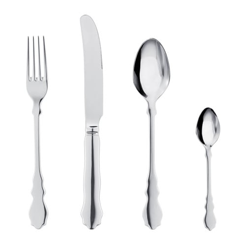 IKEA SKUREN 24-piece cutlery set