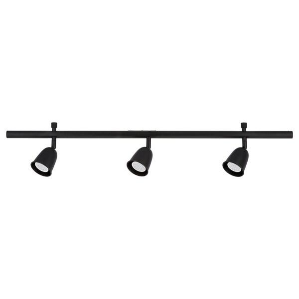 Skurup Black Ceiling Track 3 Spots Ikea
