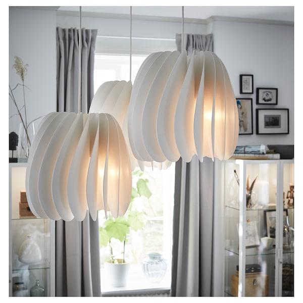 Skymningen White Pendant Lamp Ikea