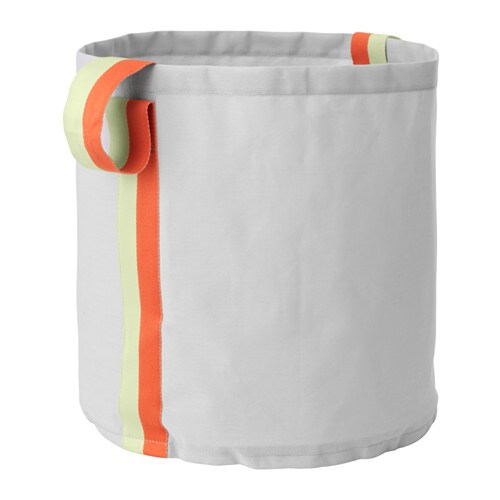 IKEA SLÄKTING storage bag Easy for your child to lift and move, since it has handles on both sides.