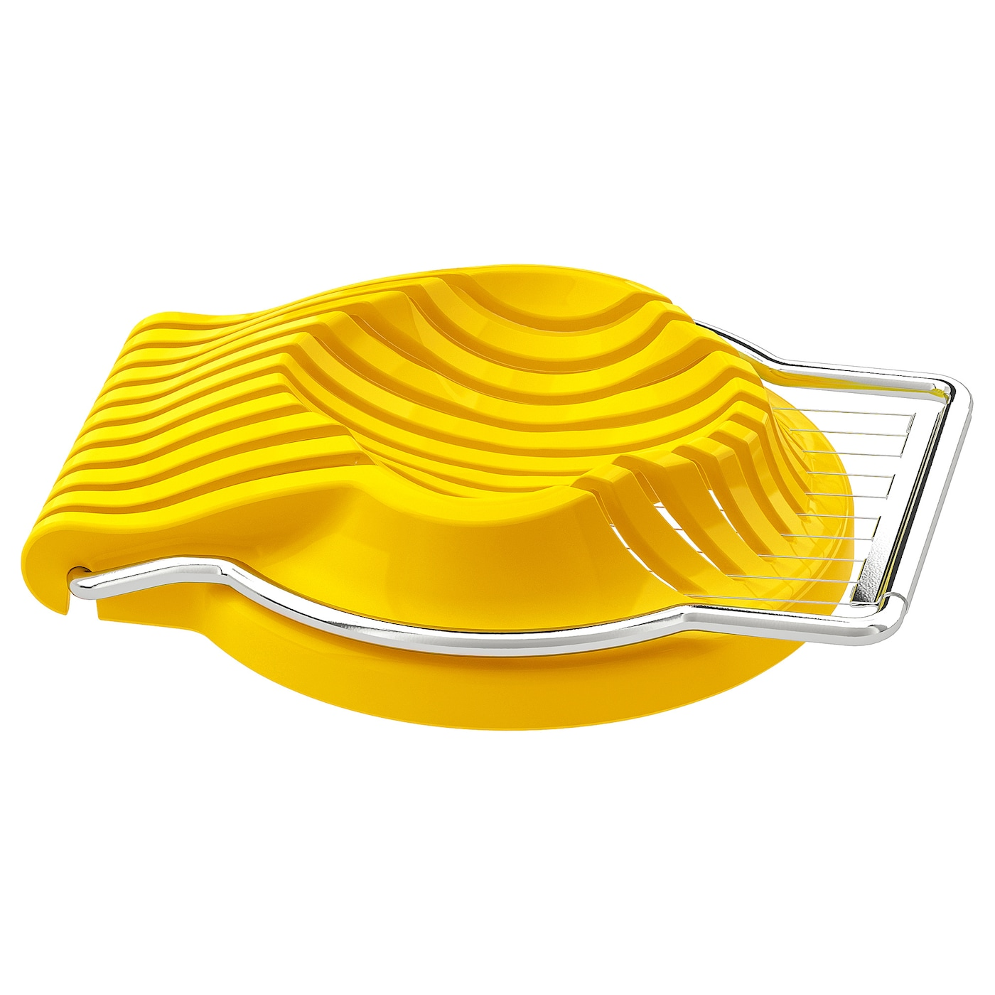 IKEA SLÄT egg slicer The egg slicer is easy to clean as the steel frame is removable.