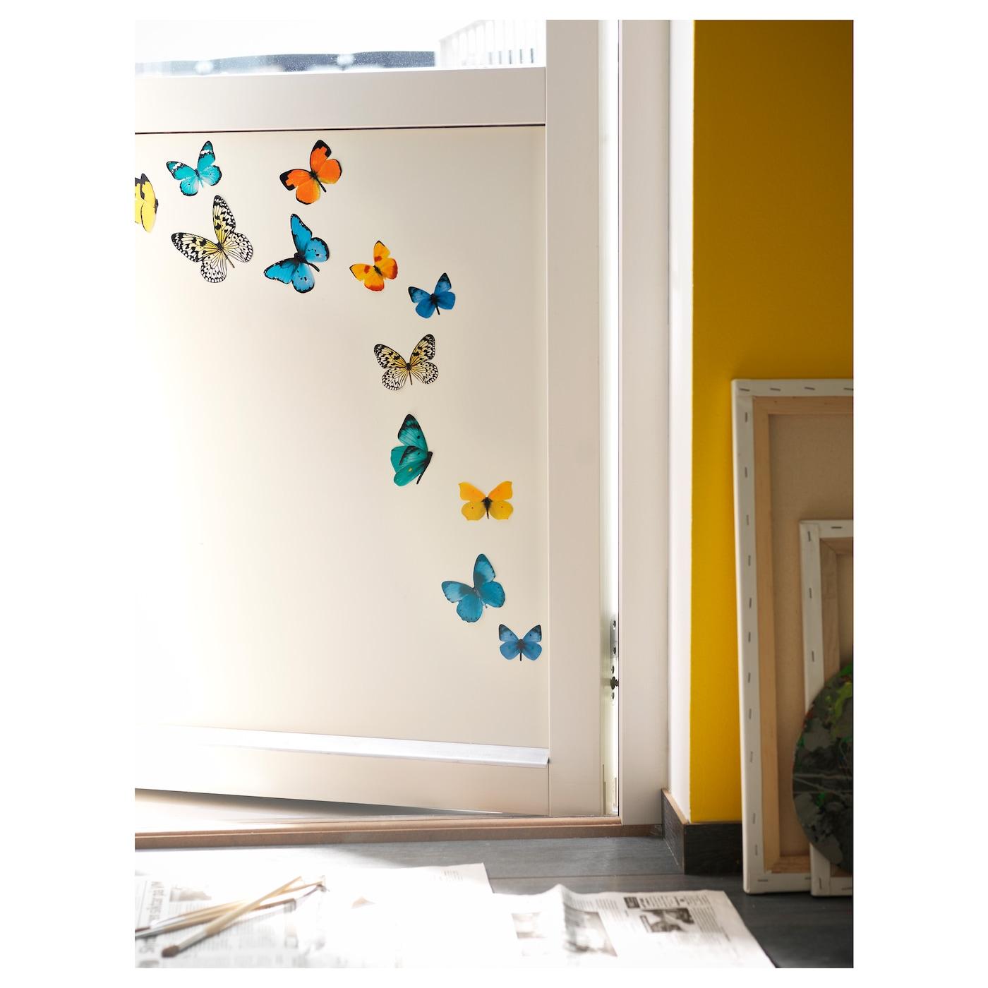 SLÄTTHULT Decoration stickers Butterflies  IKEA