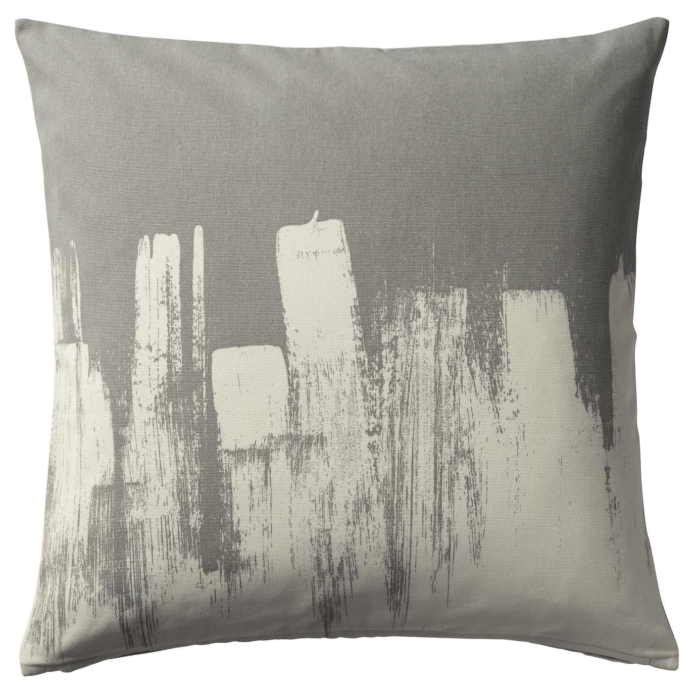 GURLI Cushion cover Grey 50x50 cm IKEA
