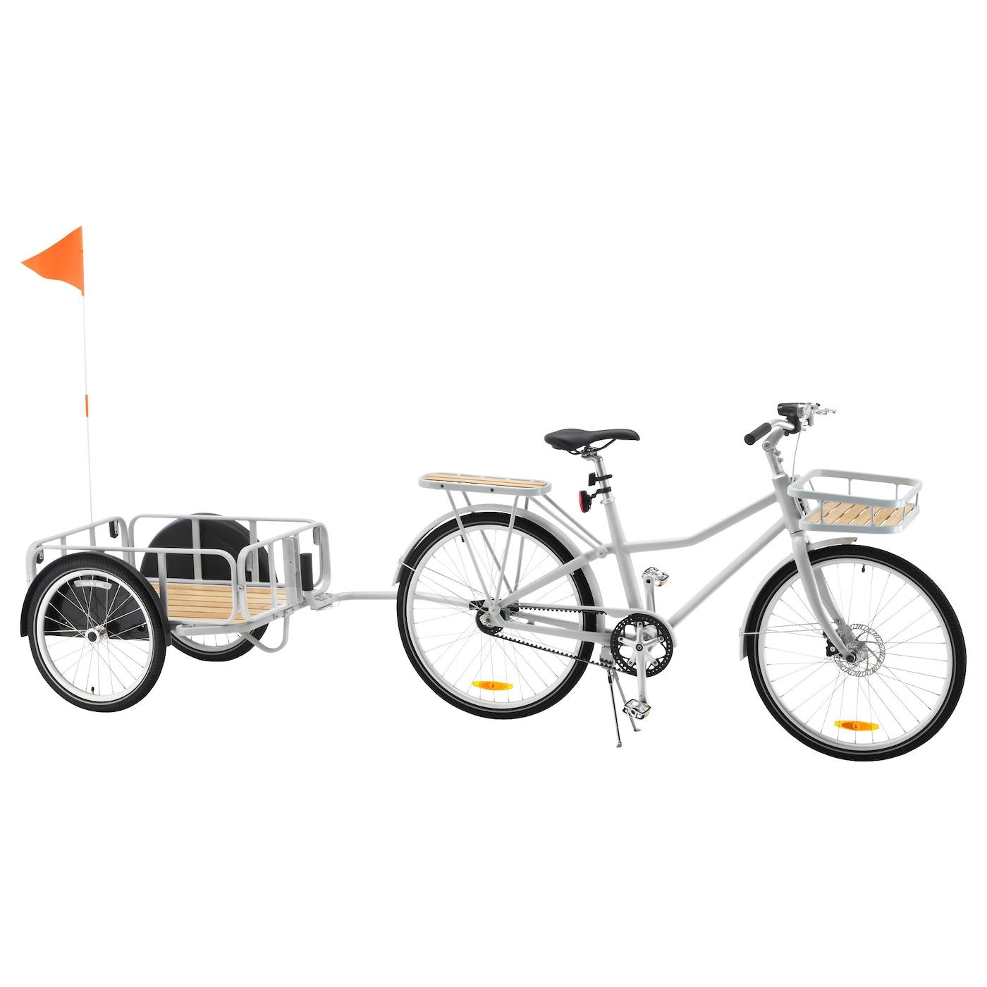 Sladda bicycle grey 28 ikea for Ikea sladda bike