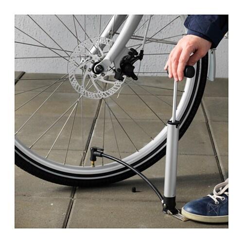 Sladda bicycle pump ikea for Ikea sladda bike