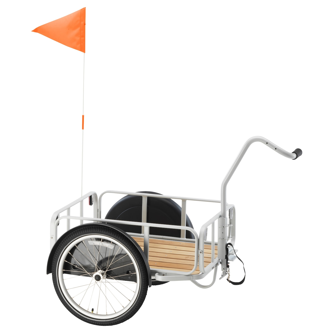 IKEA SLADDA bicycle trailer Can easily be converted into a hand-towed trailer.
