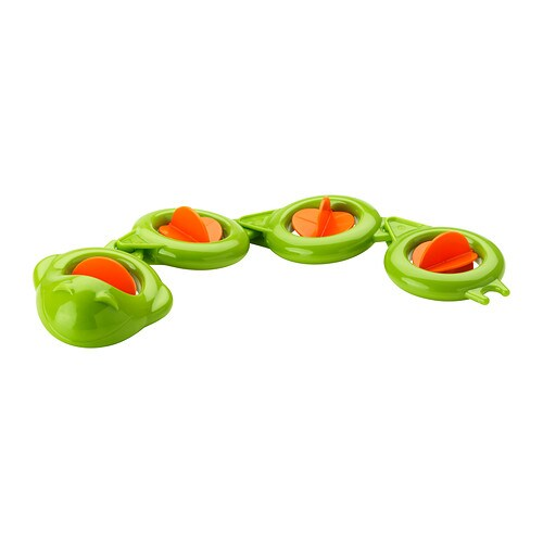IKEA SMÅKRYP bath toy, eel The bath toy stimulates your child's development of fine motor skills.
