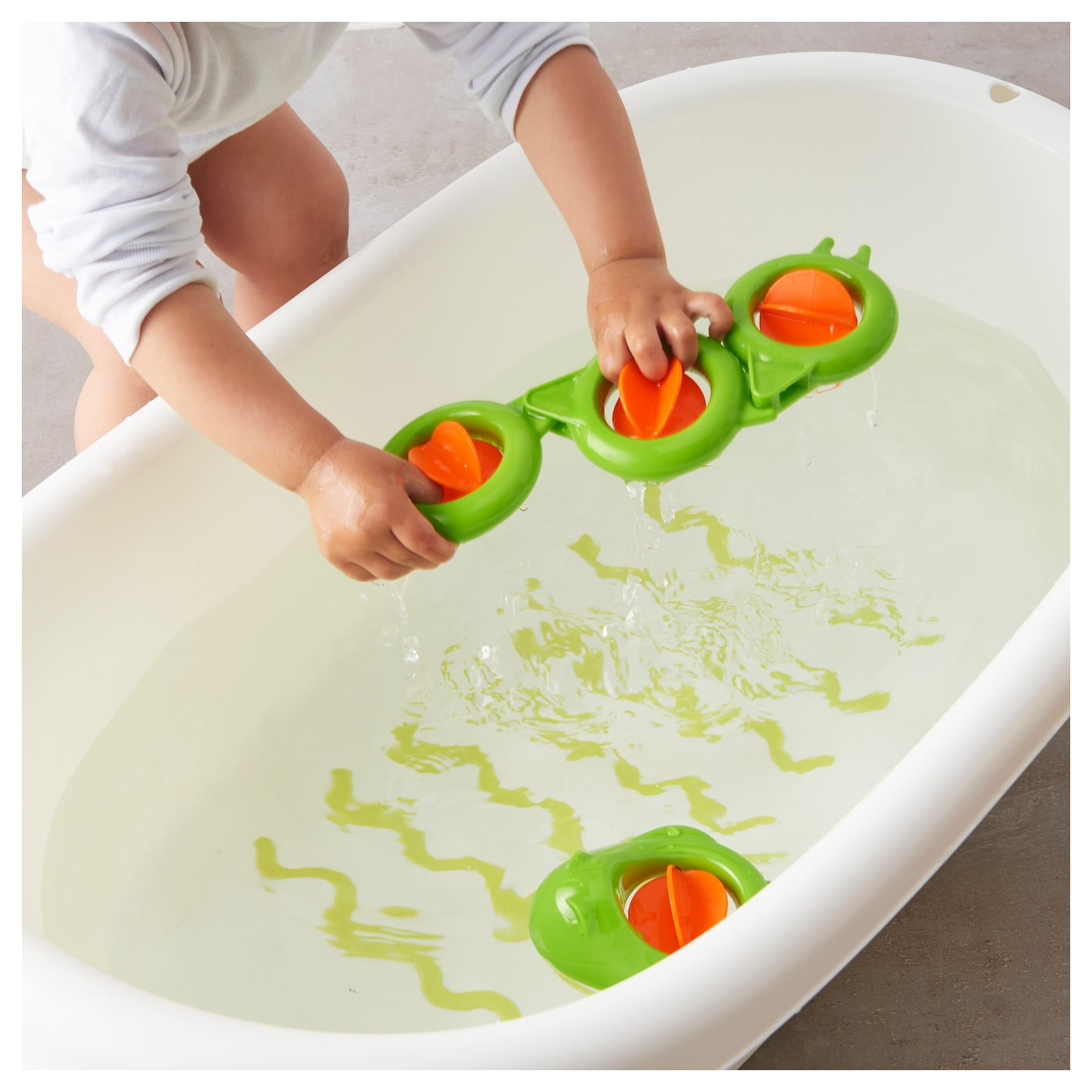 SM…KRYP Bath toy eel IKEA