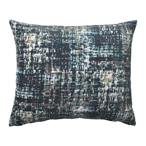 IKEA SMÅTÖREL cushion Cotton velvet gives depth to the colour and softness to the touch.