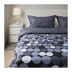 sm rboll quilt cover and 4 pillowcases grey 240x220 50x80 cm ikea. Black Bedroom Furniture Sets. Home Design Ideas