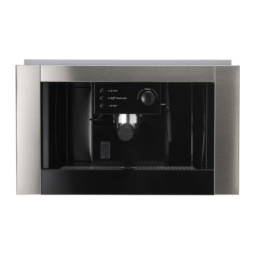 ikea whirlpool built in espresso coffee machine. Black Bedroom Furniture Sets. Home Design Ideas