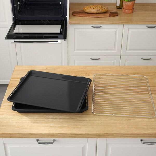 SMAKSAK Forced air oven, black