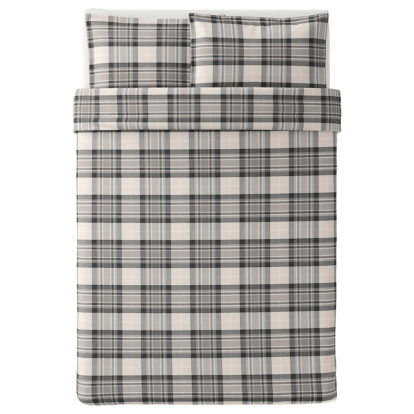 IKEA SMALRUTA quilt cover and 2 pillowcases