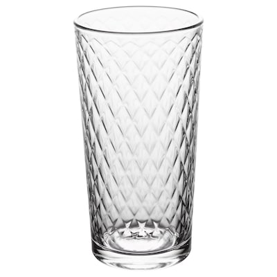 SMÅRISKA Glass, clear glass, 20 cl