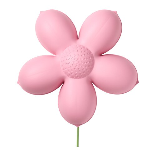 Smila Blomma Wall Lamp Light Pink Ikea