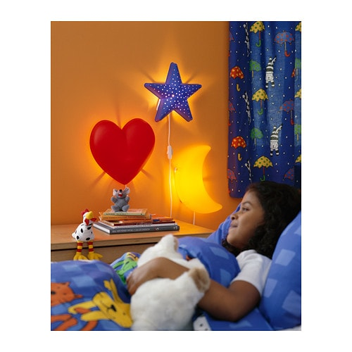 Wall Lamps For Childrens Bedroom : IKEA SMILA STJARNA Children Bedroom Wall Lamp - STAR eBay