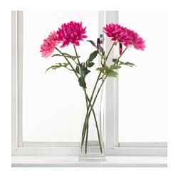 Smycka artificial flower dahlia dark pink 75 cm ikea - Ikea fleurs artificielles ...
