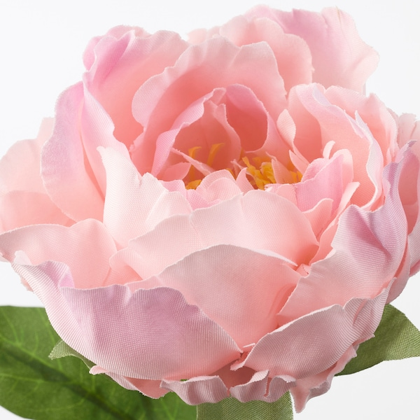 SMYCKA Artificial flower, Peony/pink, 30 cm
